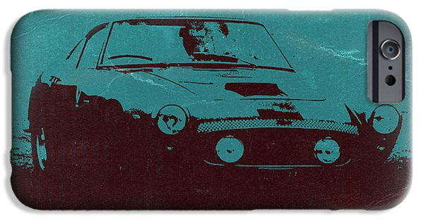 Old Cars iPhone Cases - Ferrari 250 GTB iPhone Case by Naxart Studio