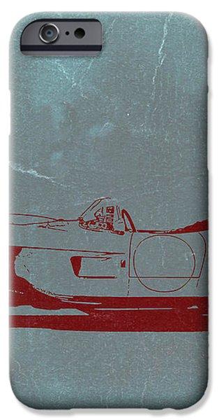 Ferrari Testa Rosa iPhone Case by Naxart Studio