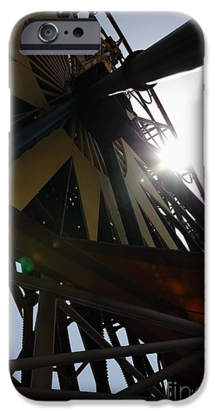 Ferris Wheel - 5D17616 iPhone Case by Wingsdomain Art and Photography