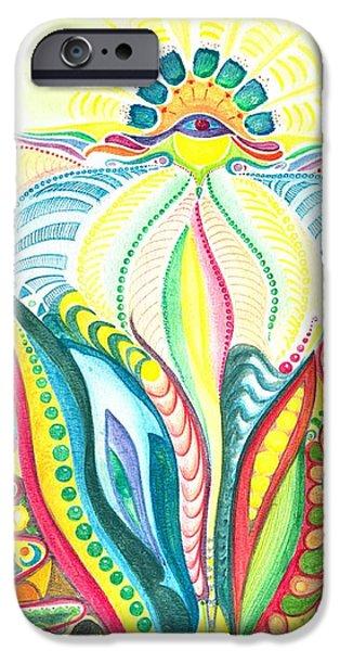 Fertility Paintings iPhone Cases - Fertility iPhone Case by Gloria Di Simone