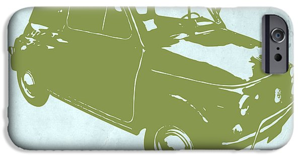 Concept iPhone Cases - Fiat 500 iPhone Case by Naxart Studio