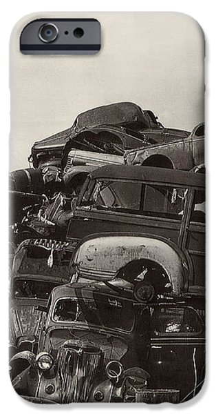 Field of Woody Dream Cars iPhone Case by Jack Pumphrey