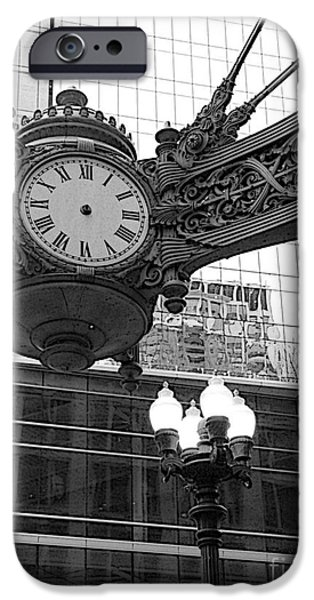 The Clock iPhone Cases - Fields Clock - Timeless iPhone Case by David Bearden