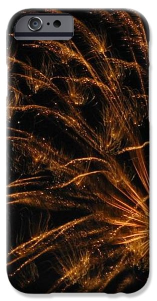 Fiery iPhone Case by Rhonda Barrett