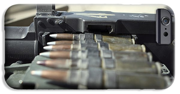 Recently Sold -  - Fed iPhone Cases - Fifty-caliber Machine Gun Rounds iPhone Case by Stocktrek Images