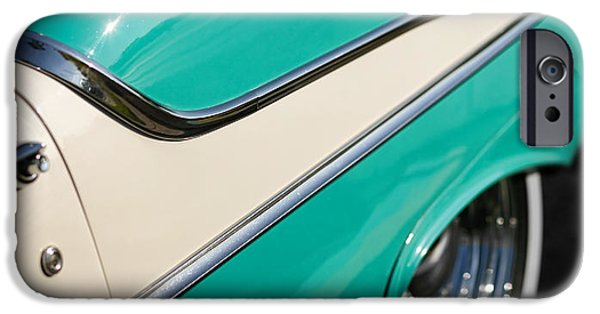 1954 Oldsmobile Super 88 iPhone Cases - Fifty Five 88 iPhone Case by Gordon Dean II