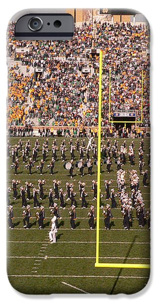 Fighting Irish Marching Band iPhone Case by David Bearden