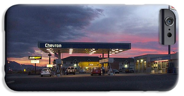 Fuels iPhone Cases - Filler Up iPhone Case by Mike McGlothlen