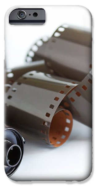 Film and Canisters iPhone Case by Carlos Caetano
