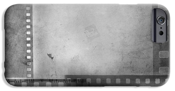Grey Photographs iPhone Cases - Film negatives  iPhone Case by Les Cunliffe