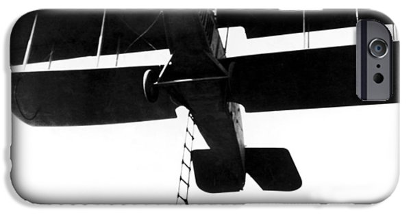 Barnstormer Photographs iPhone Cases - Film: Timber Queen, 1923 iPhone Case by Granger