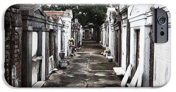 Final Resting Place Photographs iPhone Cases - Final Destination iPhone Case by John Rizzuto