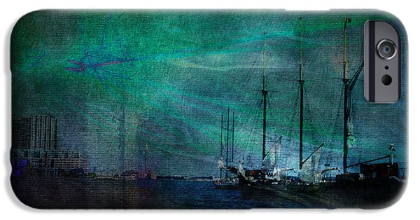 Tall Ship iPhone Cases - Finding Home iPhone Case by Robin Webster