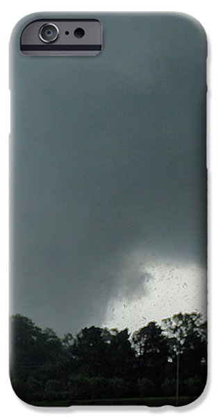 Finger of God iPhone Case by Rick Lipscomb