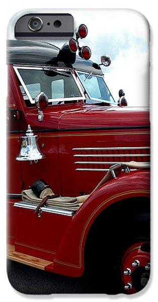 Fire Truck Selfridge Michigan iPhone Case by LeeAnn McLaneGoetz McLaneGoetzStudioLLCcom