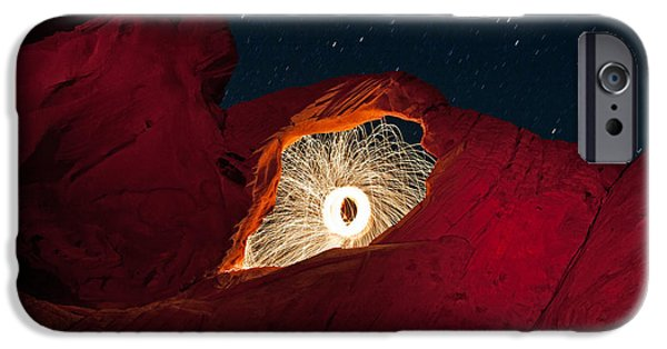 Sparks iPhone Cases - FireArch iPhone Case by Rick Berk