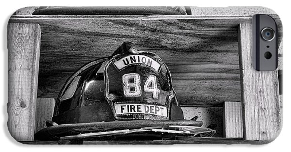 Paul Pierce iPhone Cases - Fireman - Fire Helmets iPhone Case by Paul Ward