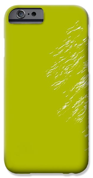 Firework Abstract lV iPhone Case by Michelle Calkins