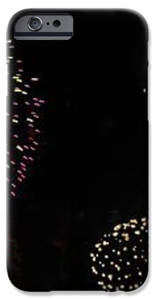 Firework lifecycle 3 iPhone Case by Meandering Photography