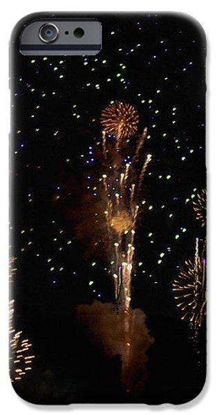 Fireworks iPhone Case by Bill Cannon