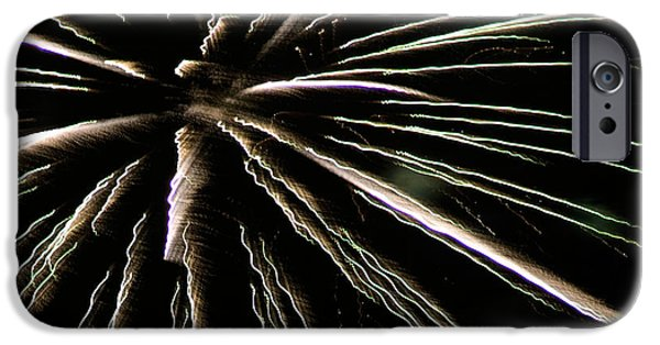 Fireworks iPhone Cases - Fireworks Fun 12 iPhone Case by Marilyn Hunt