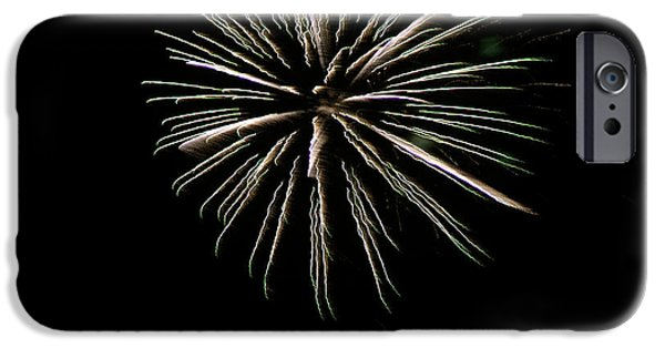 Fireworks iPhone Cases - Fireworks Fun 15 iPhone Case by Marilyn Hunt