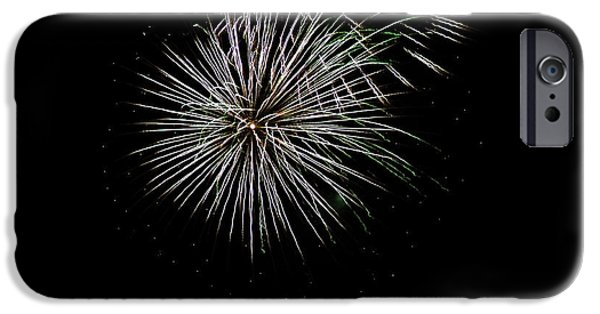 Fireworks iPhone Cases - Fireworks Fun 3 iPhone Case by Marilyn Hunt