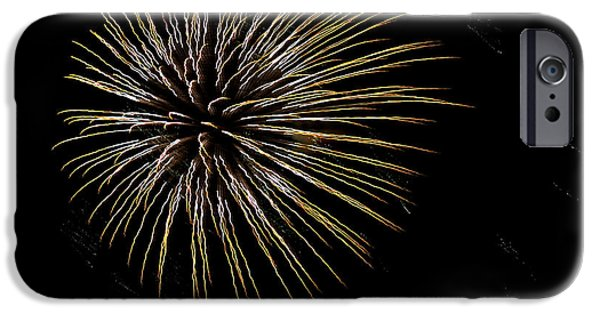 Fireworks iPhone Cases - Fireworks Fun 7 iPhone Case by Marilyn Hunt