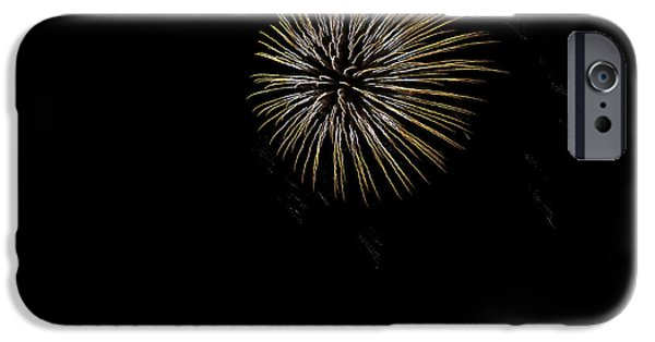 Fireworks iPhone Cases - Fireworks Fun 8 iPhone Case by Marilyn Hunt