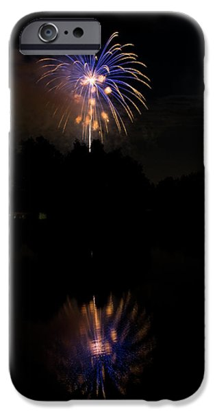 4th Of July iPhone Cases - Fireworks Reflection iPhone Case by James BO  Insogna