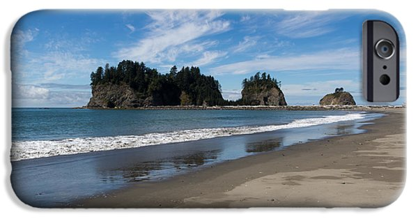 West Fork iPhone Cases - First Beach iPhone Case by Heidi Smith