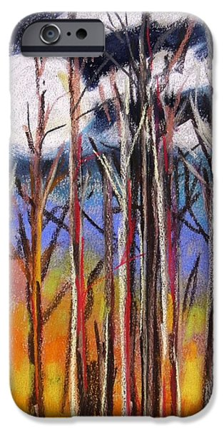 Impression Pastels iPhone Cases - First Impression Best Impression iPhone Case by John  Williams