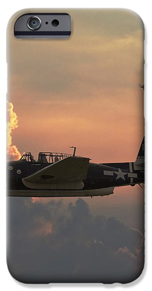 First Light Strike iPhone Case by Pat Speirs