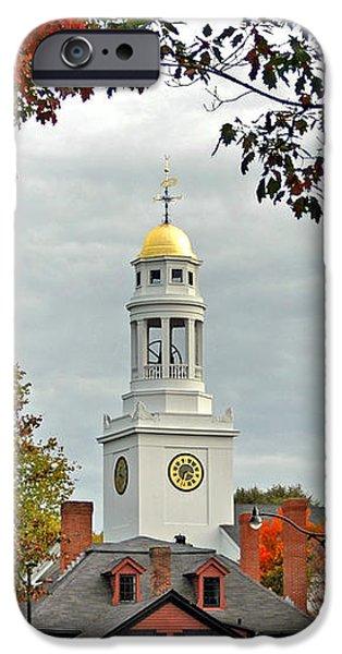 First Parish Church iPhone Case by Joann Vitali