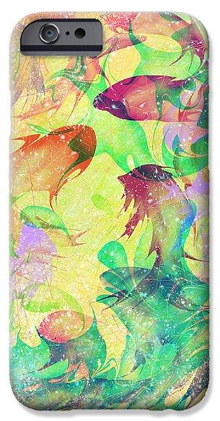 Fish Dreams iPhone Case by Rachel Christine Nowicki