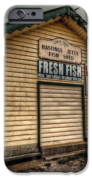 Fish Shed iPhone Case by Wayne Sherriff