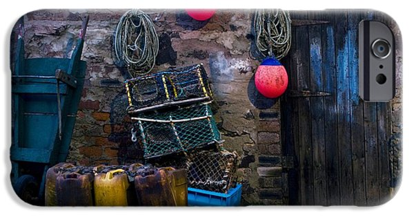 Bouys iPhone Cases - Fishermans Supplies iPhone Case by John Short