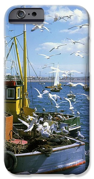 Fishing Boat iPhone Case by The Irish Image Collection
