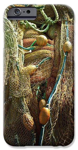 fishing nets iPhone Case by Joana Kruse