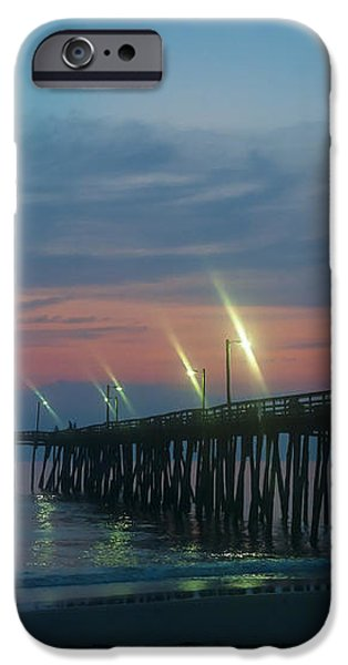 Fishing Pier Sunrise iPhone Case by John Greim