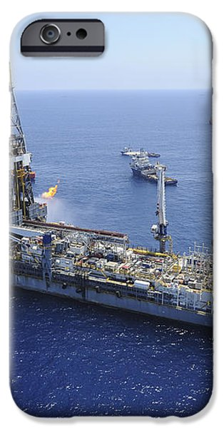 Flaring Operations Conducted iPhone Case by Stocktrek Images