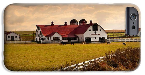 Flemingsburg Farm Ky iPhone Case by Randall Branham