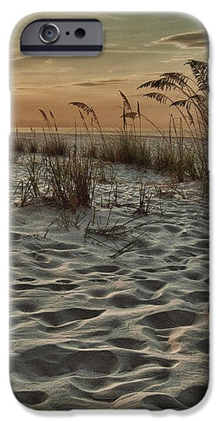 Flipflops on the Beach iPhone Case by Michael Thomas