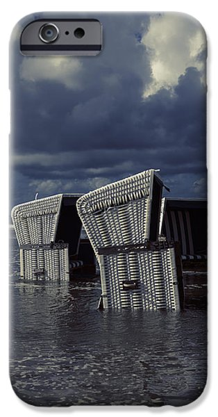 Floods Photographs iPhone Cases - Flood iPhone Case by Joana Kruse