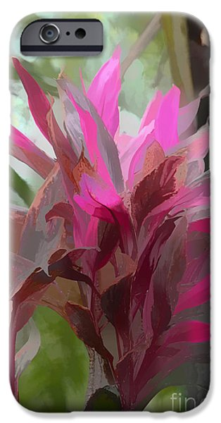 Artistic Photography iPhone Cases - Floral Pastel iPhone Case by Tom Prendergast