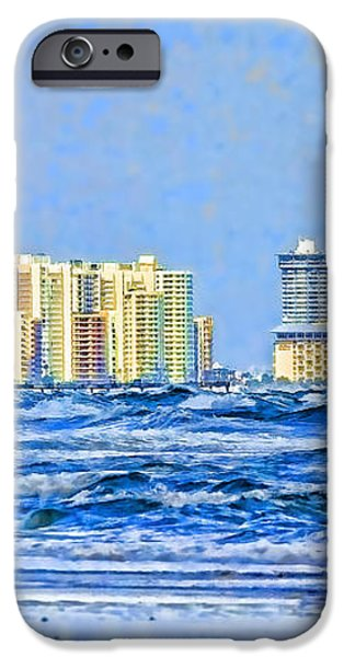 Florida Turbulence iPhone Case by Deborah Benoit