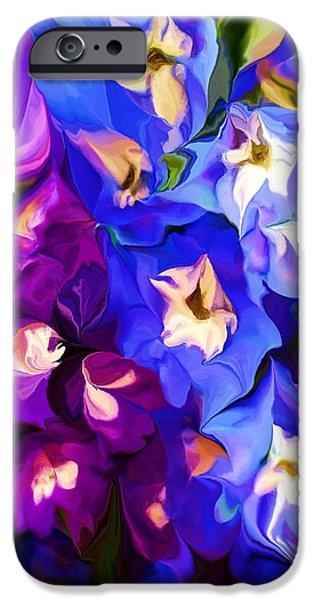 Flower Arrangement 012812 iPhone Case by David Lane