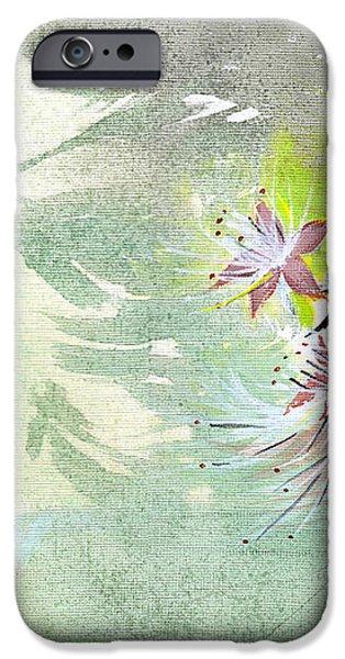 Flowers 3 iPhone Case by Anil Nene