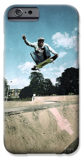 Action Shot iPhone Cases - Fly High iPhone Case by Yhun Suarez