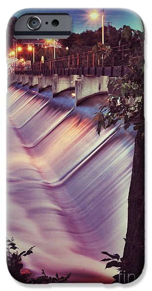 Appleton Photographs iPhone Cases - Foaming Fox River iPhone Case by Shutter Happens Photography